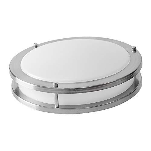 White Acrylic Led Ceiling Light Fixture Flush Mount Lamp: OSTWIN 12-inch Small Size LED Ceiling Light Fixture Flush