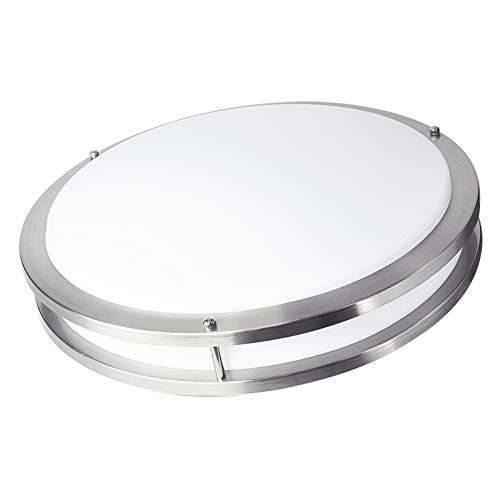 New 7 Round Led Flush Mount Ceiling Light 4000k Kitchen: OSTWIN 18-inch Large Size LED Ceiling Light Fixture Flush